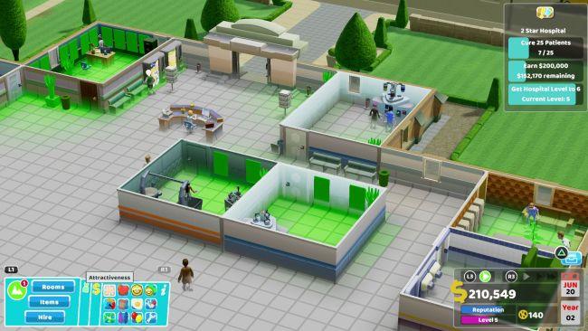 راهنمای بازی Two Point Hospital
