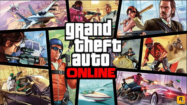 بازی Grand Theft Auto V Online