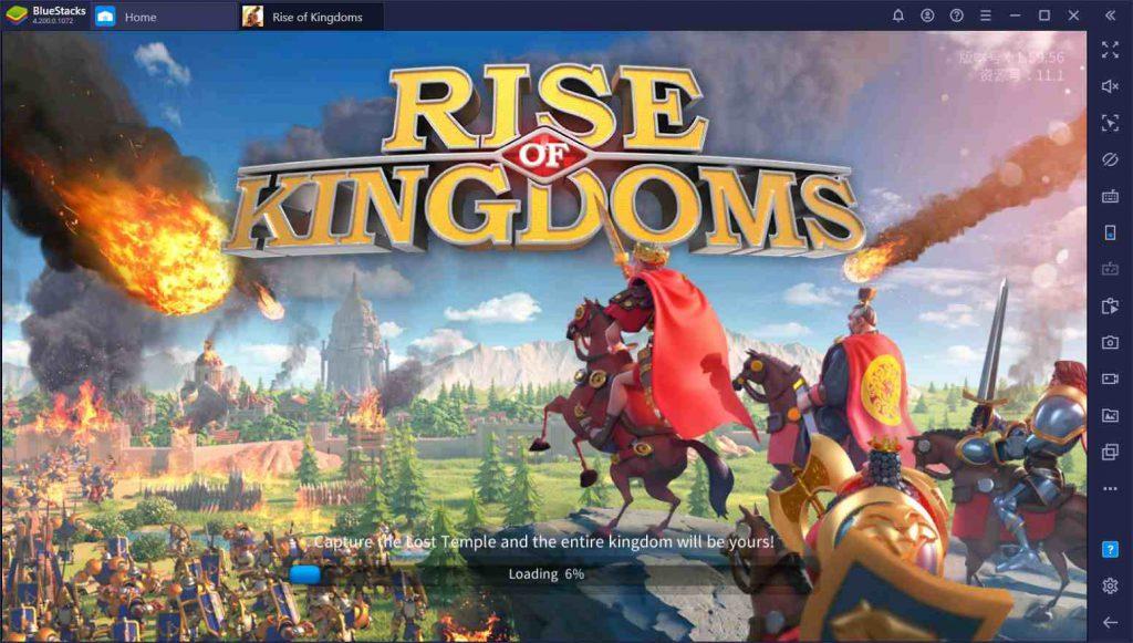 راهنمای بازی Rise of Kingdoms