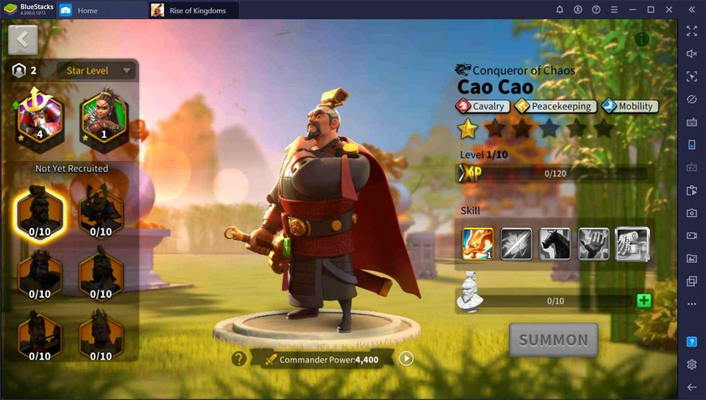 فرماندهان بازی Rise of Kingdoms