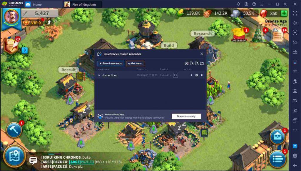 اجرای بازی Rise of Kingdoms روی رایانهی شخصی