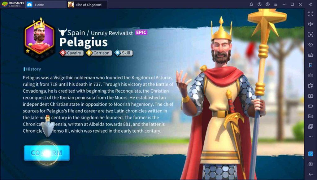 تمدنهای بازی Rise of Kingdoms
