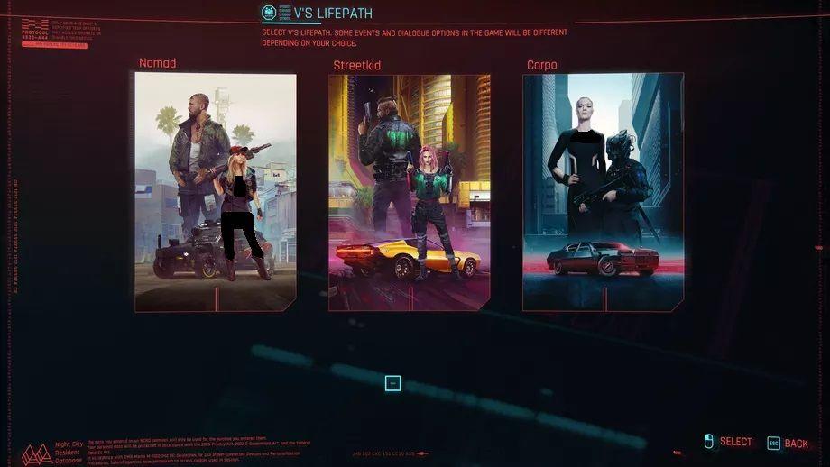 کلاسهای مختلف بازی Cyberpunk 2077