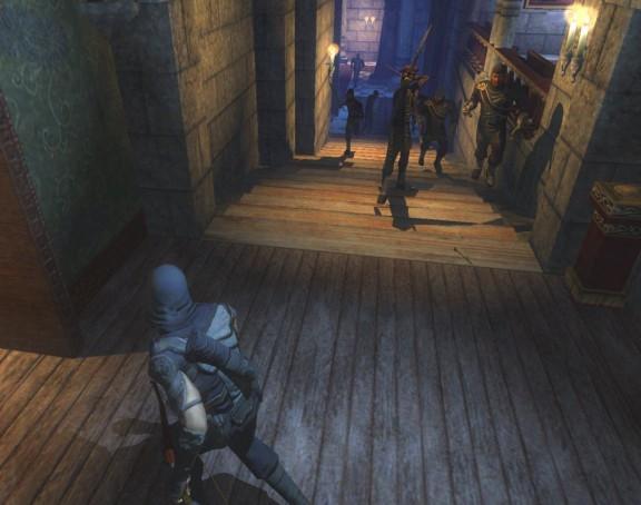 اگر در بازی Thief توسط دشمنان شناسایی شوید، بهترین گزینه فرار و پیدا کردن راه حلی موقت است.