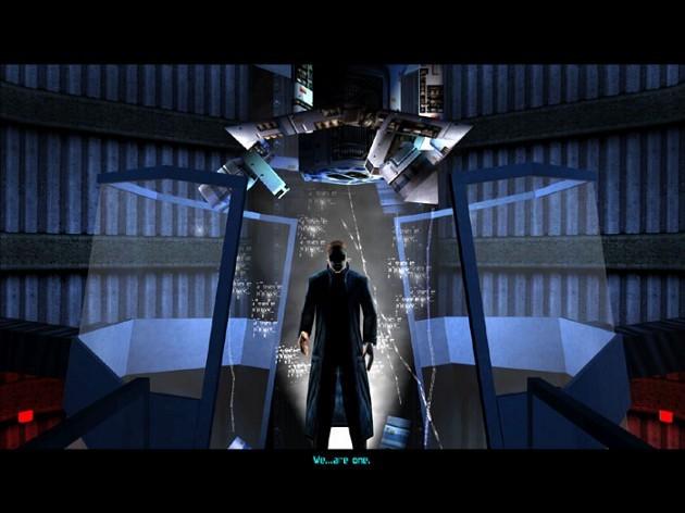 هشدار اسپویل: در پایان بازی Deus Ex، شخصیت اصلی JC Denton سرنوشت بشریت را تعیین میکند.