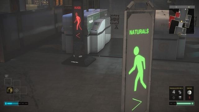 در هر گوشهای از نقشه بازی Deus Ex Mankind Divided یعنی شهر Prague، میتوان تاثیر جدایی انسانهای معمولی و Augmented را مشاهده نمود.