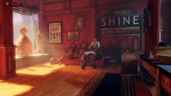 نمای داخلی در BioShock Infinite