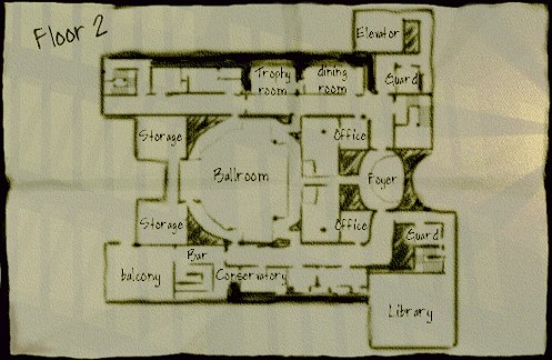 نمونهای از نقشه مراحل Thief