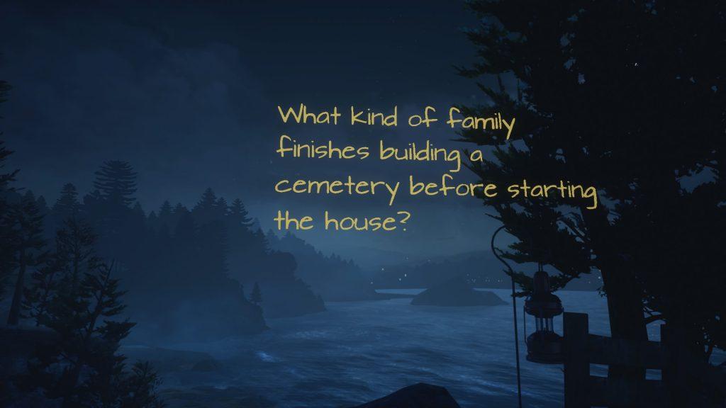 متن در What Remains of Edith Finch