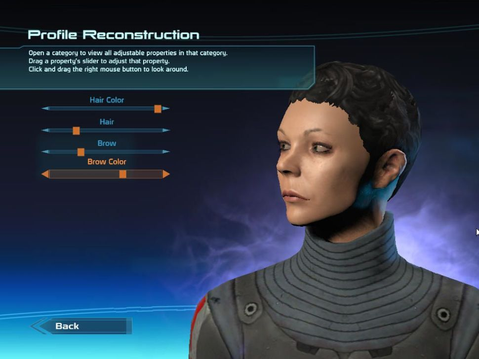 Mass Effect Character