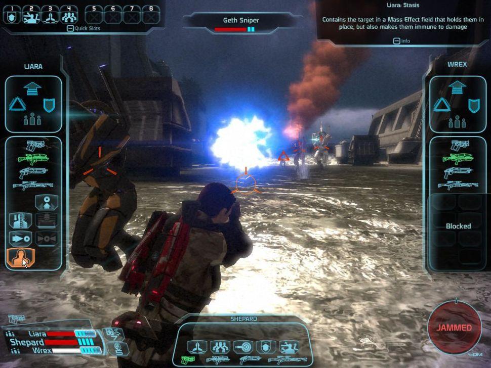 سیستم مبارزات Mass Effect