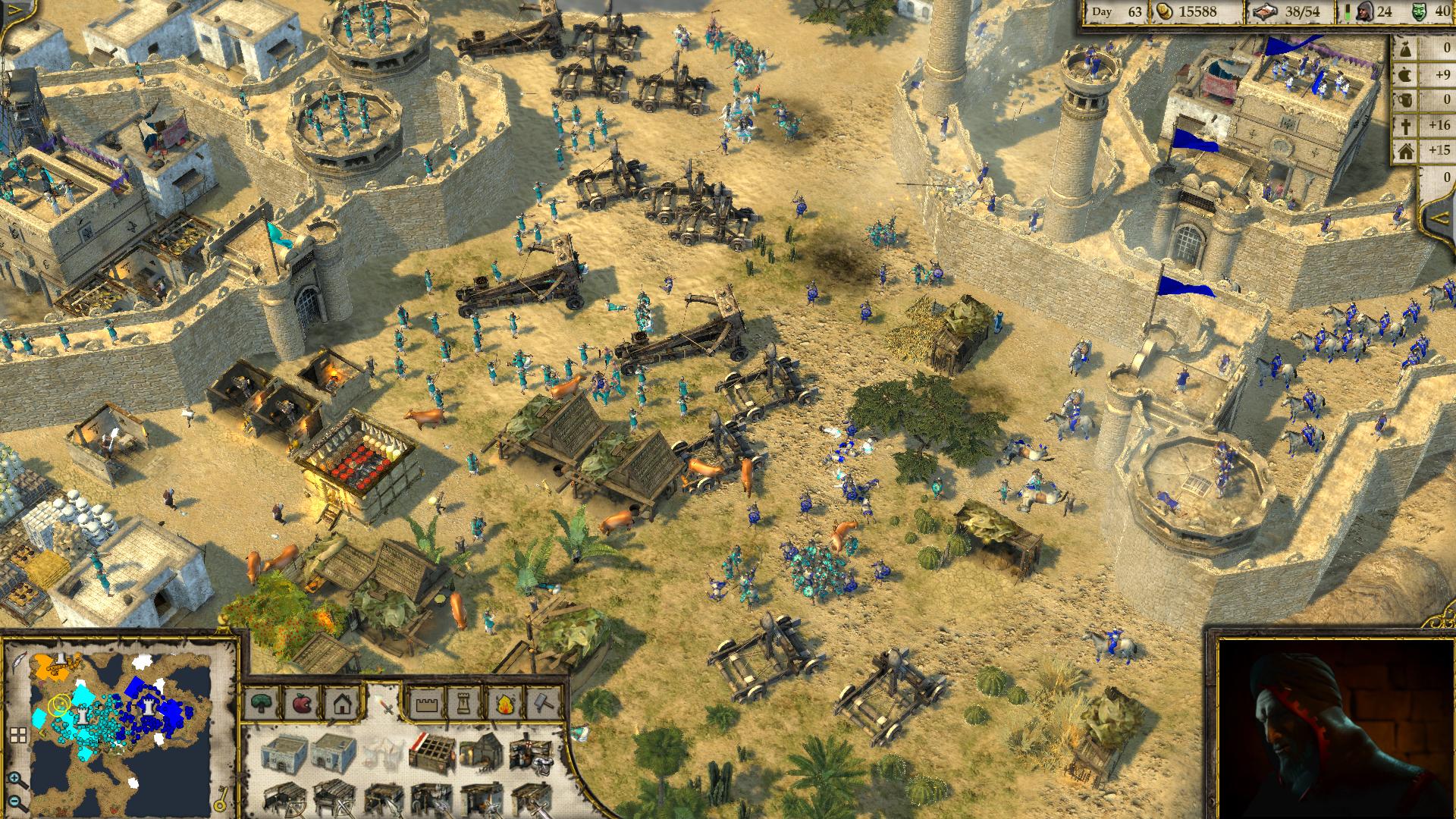 بازی Stronghold: Crusader 2