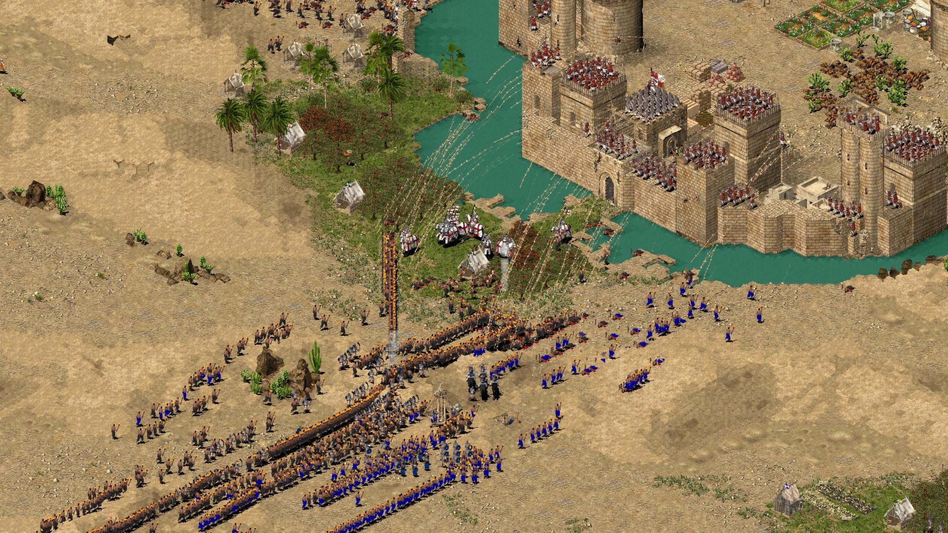 بازی Stronghold: Crusader