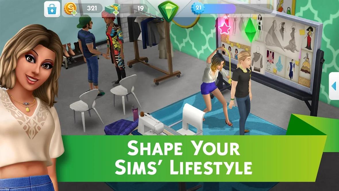 راهنمای بازی The Sims Mobile